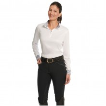 Ovation® Destiny Super-X Paisley GRIP Full Seat Breech- Ladies'