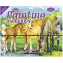 Paint By Number - Mare w/Foals