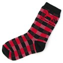 Adult socks - Black & Red Plaid