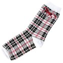 Adult socks - Plaid Horse